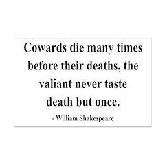 Shakespeare 18 Mini Poster Print