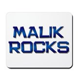 malik rocks Mousepad