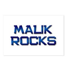 malik rocks Postcards (Package of 8)