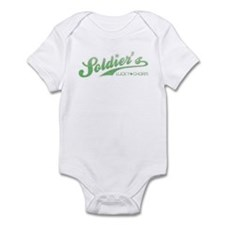 Soldier's Lucky Charm Infant Bodysuit