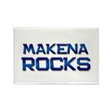 makena rocks Rectangle Magnet (10 pack)