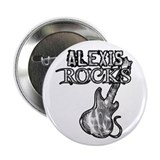 "Alexis Rocks 2.25"" Button"