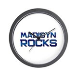 madisyn rocks Wall Clock