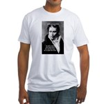 Schopenhauer Philosophy Truth Fitted T-Shirt