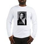 Schopenhauer Philosophy Truth Long Sleeve T-Shirt