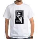 Schopenhauer Philosophy Truth White T-Shirt