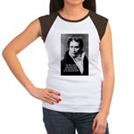 Schopenhauer Philosophy Truth Women's Cap Sleeve T