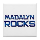 madalyn rocks Tile Coaster