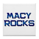 macy rocks Tile Coaster