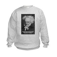 Pessimism / Schopenhauer Kids Sweatshirt