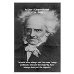 Pessimism / Schopenhauer Large Poster