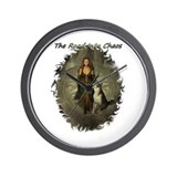 The Road Into Chaos Wall Clock