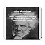 Pessimism / Schopenhauer Mousepad