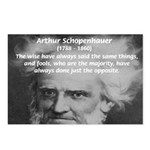 Pessimism / Schopenhauer Postcards (Package of 8)