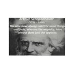 Pessimism / Schopenhauer Rectangle Magnet (100 pac
