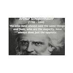 Pessimism / Schopenhauer Rectangle Magnet (100 pac