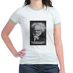 Pessimism / Schopenhauer Jr. Ringer T-Shirt