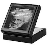 Pessimism / Schopenhauer Keepsake Box
