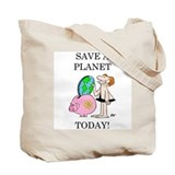 &amp;quot;Save A Planet&amp;quot; Tote Bag