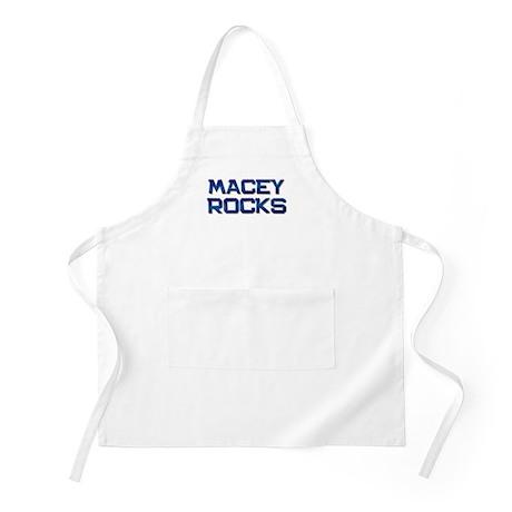 macey rocks BBQ Apron
