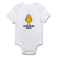 Triathlon Chick Infant Bodysuit
