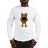 Big Nose/Butt Irish Terrier Long Sleeve T-Shirt