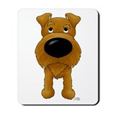 Big Nose Irish Terrier Mousepad