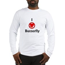 I Hate Butterfly Long Sleeve T-Shirt