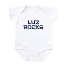 luz rocks Infant Bodysuit