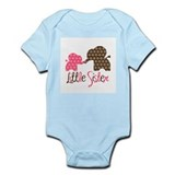 Little Sister Elephant Onesie