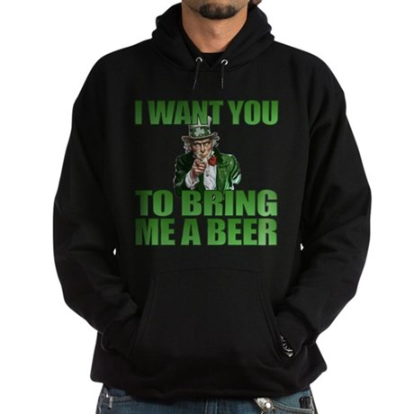 Uncle Sam Bring Me a Beer Hoodie (dark)
