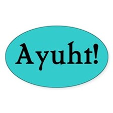 Maine Bumper Stickers Oval Sticker (10 pk)