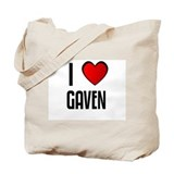 I LOVE GAVEN Tote Bag