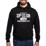 Pig University Hoodie (dark)