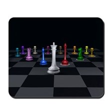 Chess Warrior Mousepad