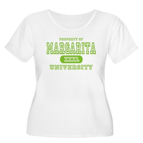 Margarita University Women's Plus Size Scoop Neck