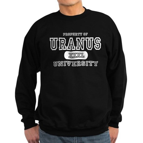 Uranus University Property Sweatshirt (dark)