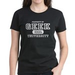 Geek University Women's Dark T-Shirt