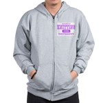 Knitting University Zip Hoodie