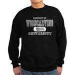 Woodcarving University Sweatshirt (dark)
