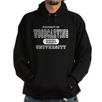 Woodcarving University Hoodie (dark)
