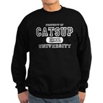Catsup University T-Shirts Sweatshirt (dark)