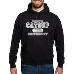 Catsup University T-Shirts Hoodie (dark)