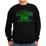 Jalapeno University Pepper Sweatshirt (dark)