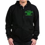 Jalapeno University Pepper Zip Hoodie (dark)