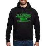 Jalapeno University Pepper Hoodie (dark)
