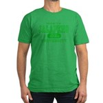 Jalapeno University Pepper Men's Fitted T-Shirt (d