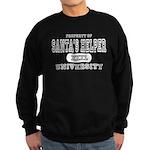 Santa's Helper University Sweatshirt (dark)
