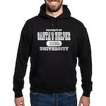 Santa's Helper University Hoodie (dark)