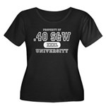 .40 S&W University Women's Plus Size Scoop Neck Da